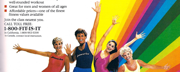 9 Most Outrageous 80's Workouts Ever